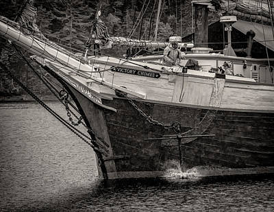Photograph - Drop Anchor by Fred LeBlanc
