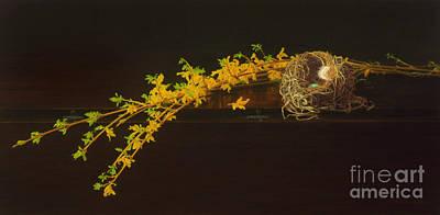 Drop Leaf Art Print by Barbara Groff