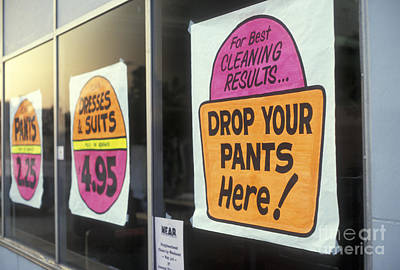 Photograph - Drop Your Pants Here by Jim West