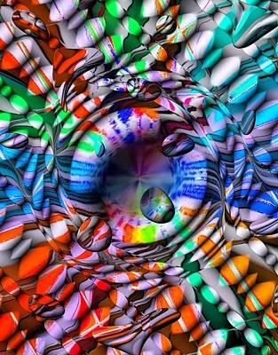 Drops Color By Nico Bielow Art Print by Nico Bielow