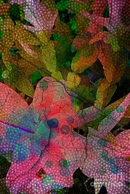 Digital Art - Drops Of Color by Denisse Del Mar Guevara