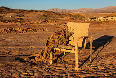 Negative Space - Drought Castaway by James Marvin Phelps