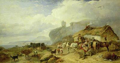 Drovers Halt, Island Of Mull Art Print