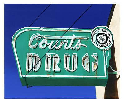 Drug Stores Painting - Drug Store by Elizabeth Aubuchon