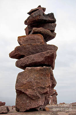 Photograph - Druid Cairn  by Olivier Le Queinec