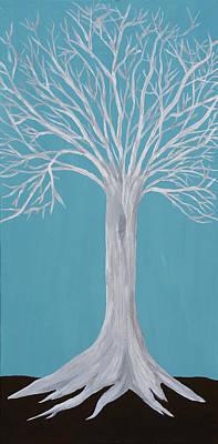 Druid Tree 2 Art Print by Maura Satchell