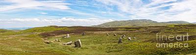 Megalith Photograph - Druids Stone Circle by Amanda Elwell