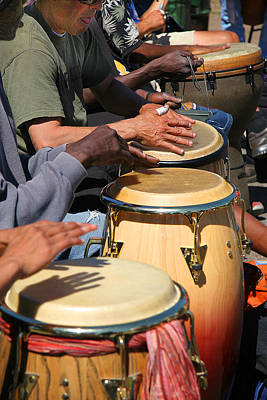 Photograph - Drum Jammin In Golden Gate Park by Robert Woodward