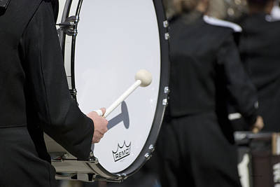 Marching Band Photograph - Drum Musical Instrument 02 by Thomas Woolworth