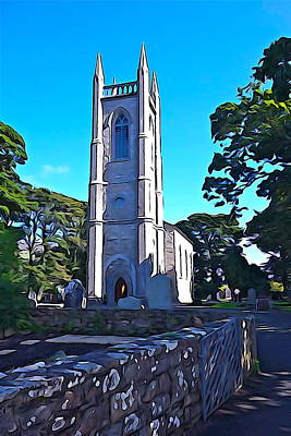 Photograph - Drumcliff Steeple by Charlie and Norma Brock