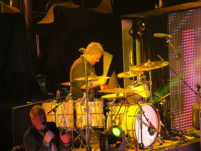 Photograph - Drumer For Newsong Rocks Atlanta by Aaron Martens