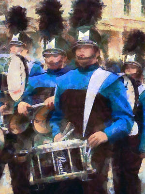 Photograph - Drummers by Susan Savad
