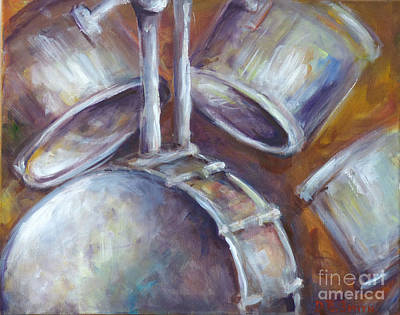 Painting - Drums by Deborah Smith
