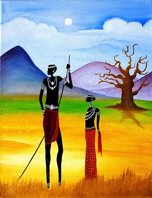Painting - Dry Africa by Tanya Anurag