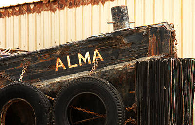 Morro Bay Ca Photograph - Dry Docked Alma by Art Block Collections