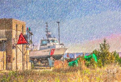 Digital Art - Dry Docked by Dale Powell