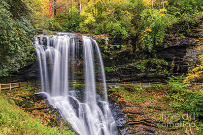Dry Falls In Fall Art Print