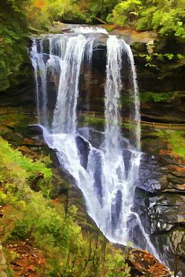 Photograph - Dry Falls Of North Carolina by David Letts