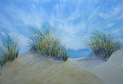 Painting - Dry Grass by Mickey Raina