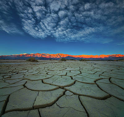 Death Valley Photograph - Dry Season by John Fan