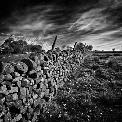 Photograph - Dry Stone Walls by Meirion Matthias