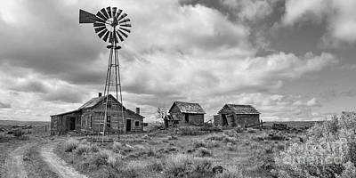 Photograph - Dry Well Ranch by Ansel Price