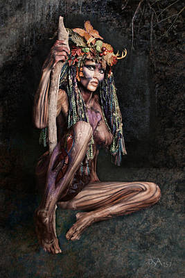 Dryad IIi Art Print by David April