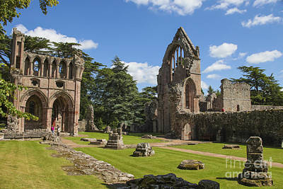 Dryburgh Abbey  Art Print