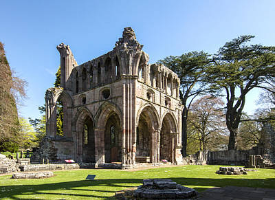 Dryburgh Abbey St. Boswells Scotland 1 Art Print by Paul Cannon