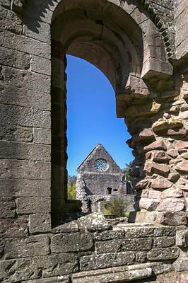 Dryburgh Abbey St. Boswells Scotland 2 Art Print by Paul Cannon