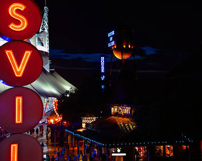 Photograph - Streets Of Downtown Disney by David Lee Thompson