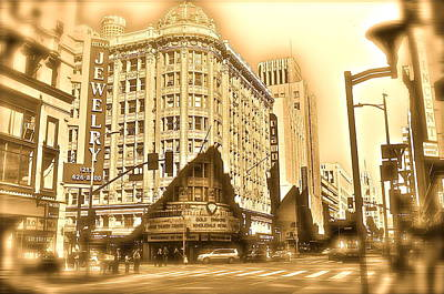 Photograph - Dtla Jewelry Mart by Joe  Burns
