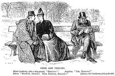 Painting - Du Maurier Cartoon, 1888 by Granger