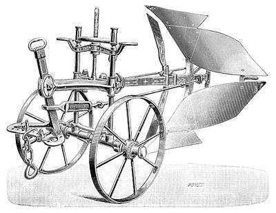 Mechanism Photograph - Dual-brabant Plough by Science Photo Library