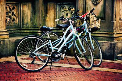 Dual Ride Art Print by Laura George