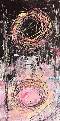 Duality Art Print by Kim Heil