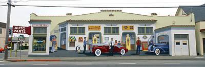 Mural Photograph - Duane Flatmo Mural, Eureka, Humboldt by Panoramic Images