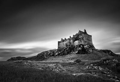 Duart Castle Art Print by Dave Bowman