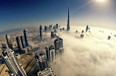 Dubai Art Print by © Naufal Mq