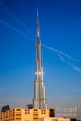 Photograph - Dubai Burj Khalifa  by Fototrav Print