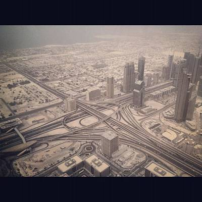 Photograph - Dubai Citylife by Maeve O Connell