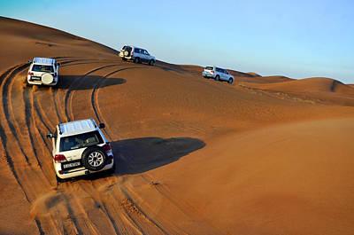 Photograph - Dubai Desert by Andrew Dinh