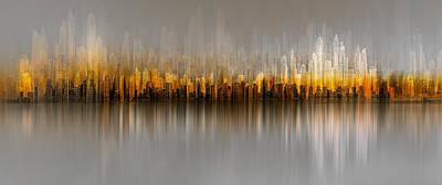 Skyscrapers Wall Art - Photograph - Dubai Skyline by Carmine Chiriac?