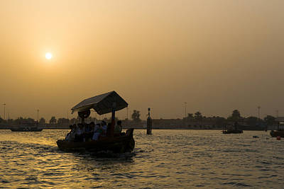 Photograph - Dubai Water Taxi by Mick House