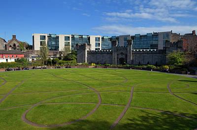 Garden Photograph - Dubh Linn Gardens Behoind Dublin by Panoramic Images
