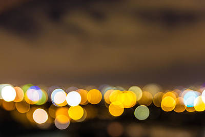 Photograph - Dublin Bokeh by Semmick Photo