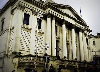 Photograph - Dublin City Hall by Nadalyn Larsen
