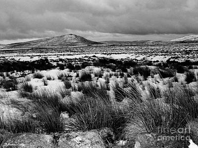 Dublin Mountains In Winter Ireland Art Print by Jo Collins
