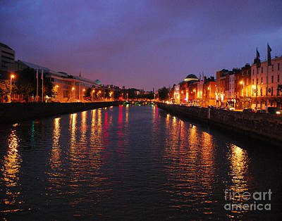 Photograph - Dublin Nights by Mary Carol Story