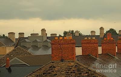 Photograph - Dublin Rooftops by Louise Fahy
